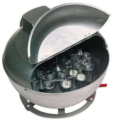 Babcock 220V, 50Hz centrifuge; 8 bottle capacity