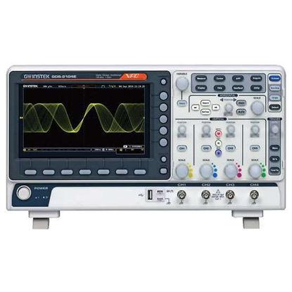 GW Instek GDS-2104E Digital Storage Oscilloscope, 100 MHz, 4-channel