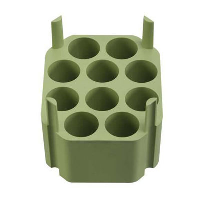 Thermo Scientific Heraeus 75003674 Adapters For 50 mL Conical Tubes (10 Positions), Fits Bucket 17708-41, 4/pk