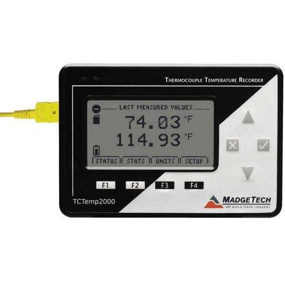 TC-BASED TEMP DATALGR W/LCD