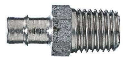 """PIPE ADAPTER 1/4X1/16"""" SS"""