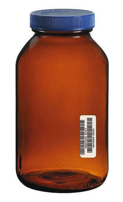 JAR AMBER GLS 1250ML CERT 6/CS