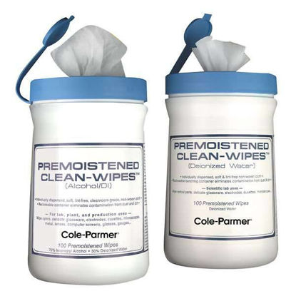 PREMOISTENED DI CLEAN-WIPES
