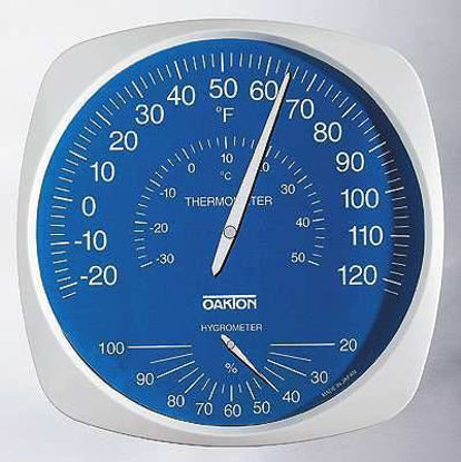 THERMOHYGROMETER LARGE-DIAL