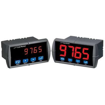 "Cole-Parmer Universal Input Panel Meter, 0.56""/2-SPDT/12-36VDC"