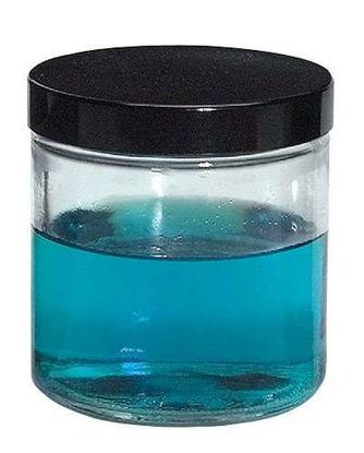 JAR GLASS CLEAR WM 1 OZ 48/CS