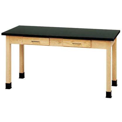 TABLE WOOD LAM 48 X 30 X 36H Desi