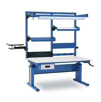 WORKBENCH ESD HAND CRANK