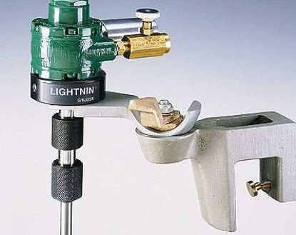 Lightnin 869440 Air-drive mixer with universal clamp