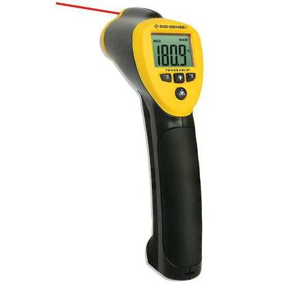 Digi-Sense Calibrated Infrared (IR) Thermometer, 50: 1 Ratio, Fixed Emissivity