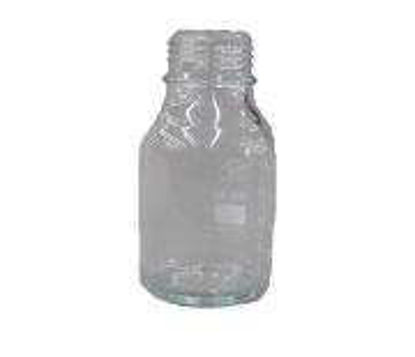 Glass Bottle 250ml, Coated, Clear