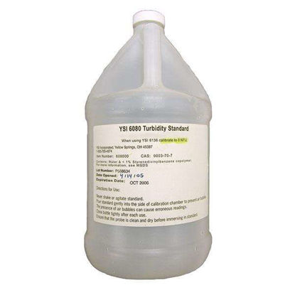 Turbidity Standard, 0 FNU (1 gallon)