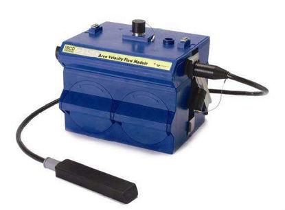 2150 Flow Module with AV sensor, 2191 Battery Module, and Handle
