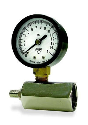 GAUGE GAS TEST 0-15 PSI