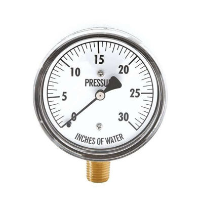 "GAUGE PRESSURE 0 TO 160"" H2O"