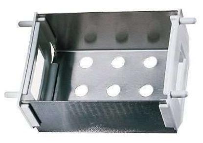 """Drain basket for modular stainless steel drying racks 6"""""""
