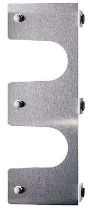 Cylinder yoke for modular stainless steel drying racks