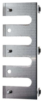 Pipette rack for modular stainless steel drying racks