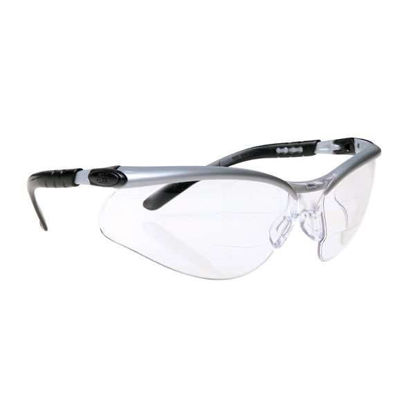 SAFETY GLASSES DUAL 2.0X