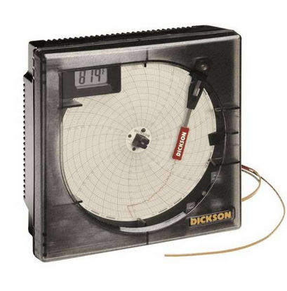 Dickson KT622 6-Inch Temperature Recorder with Remote Probe