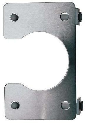Flask holder for modular stainless steel drying racks