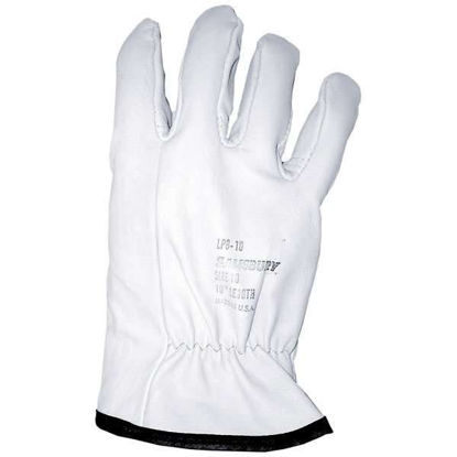 LEATHER GLOVE 10 INCH SIZE 7