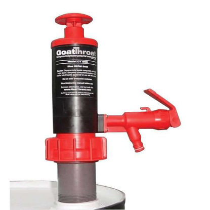 GoatThroat GT300-C/STANDOFF Pump With Viton Seal, 4in; Standoff