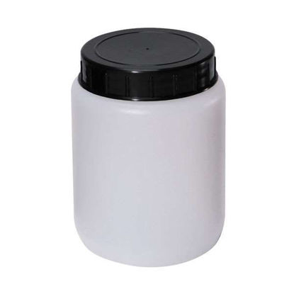 CYLINDRICAL JAR HDPE 2000ML