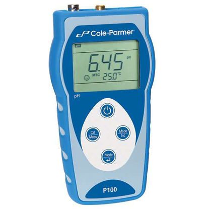 Cole-Parmer PC100 pH/Conductivity Meter with Probe, Handheld