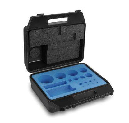 up to 500 g E2, F1, F2, M1-M3 carrying case for individual denominations plastic