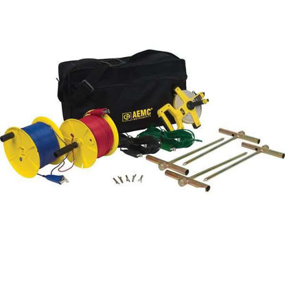 GROUND RESIST TEST KIT 300 FT