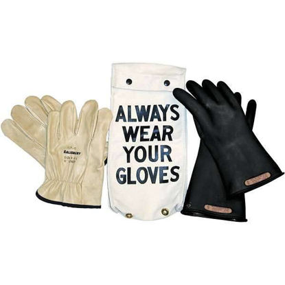 CLASS 0 GLOVE KIT RED SIZE 10