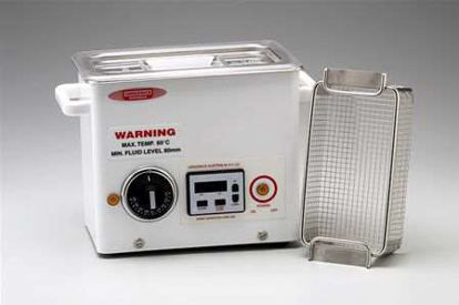 FXP Ultrasonic Cleaner 2.7 L, DIGITAL TIMER - WITH HEAT, TANK: 240 x 140 x 100MM