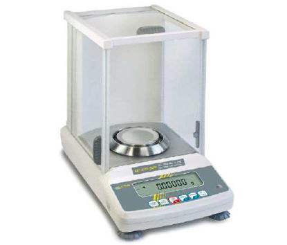 Analytical balance with type approval, class I 0.01 mg ; 101 g