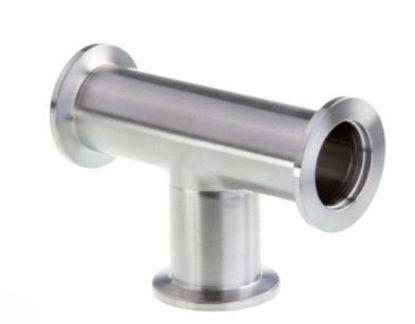 ISO-KF Tees (DN 16 ISO-KF / Stainless Steel)