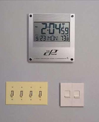 CLOCK DIGITAL ATOMIC WALL