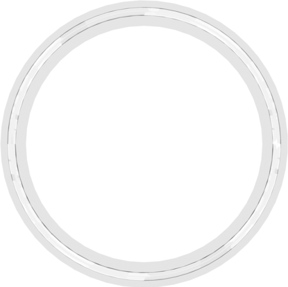Molded Gasket for 3 inch Flange Fittings Platinum-Cured Silicone