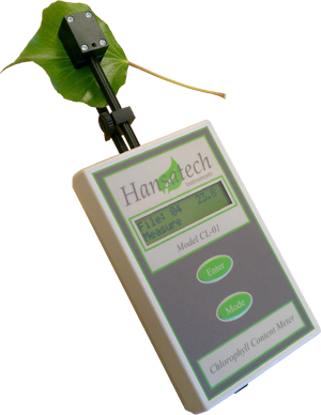 Chlorophyll content meter complete