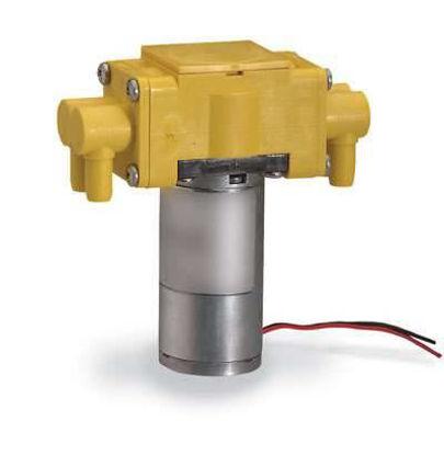 PUMP DUAL-HEAD AIR/GAS 24VDC