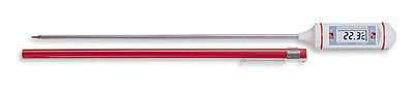 "Digi-Sense Calibrated Long-Stem Thermometer, 11.5"" L, -58 to 572F/-50 to 300C"