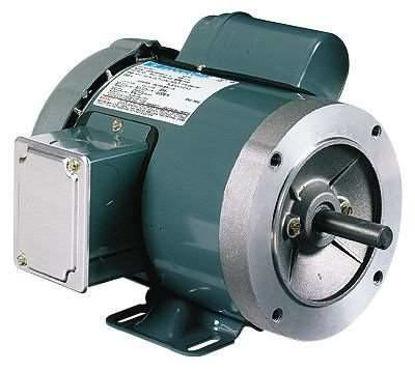 General-purpose Single-phase TEFC/ODP NEMA Type C-face Motor, 3/4 Hp, 1800 RPM
