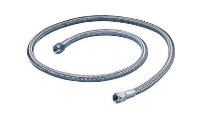 "FEP-LINED HOSE 1/4""F-F 1FT/PK"