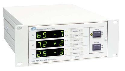358 Micro-Ion Gauge Controller, Half-Rack Mount, No Interface, No Gauge Option, No Setpoint Card, mbar display, 240VAC