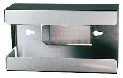Glove dispenser for modular stainless steel drying racks