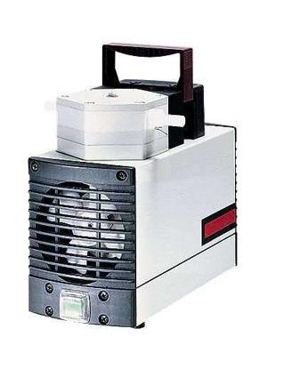 """KNF N810 FTP Solid PTFE Vacuum Pump, PTFE/FFKM; 0.35 cfm/27""""Hg-15 psi/230V"""