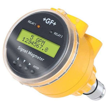 """GF Signet 3-2551 Insertion Magmeter, PP/SS, 0.5-4"""", w/ Display, S3L/Frequency"""