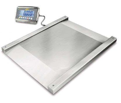 Floor scale with type approval 0.5 kg 1500 kg
