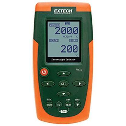 "Extech PRC20 Thermocouple Calibrator 6.3"" x 3.2"" x 1.7"" (159 x 80 x 44mm)"