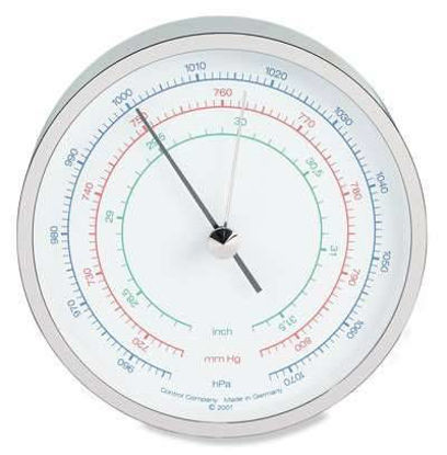 """Cole-Parmer Three-Scale Dial Barometer, mbar/""""Hg/mm Hg"""
