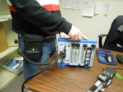 Belt Pack Kit - Battery, Charger, and Power Supply - For extended operation in the field